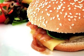 Fast food is full of cholesterol, fat and calories.