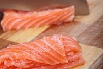 Salmon is rich in vitamin D.