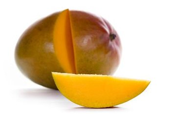 A 1-cup serving of mango contains more than half of your daily vitamin C requirements.