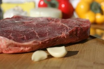 Not eating enough meat could prevent you from meeting your daily iron requirements.