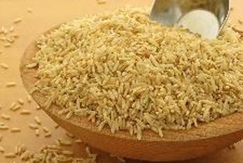 Brown rice is an excellent source of complex carbohydrates and fiber.