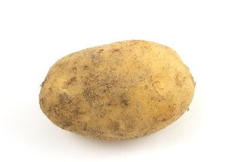 A potato is higher in vitamins than a banana.