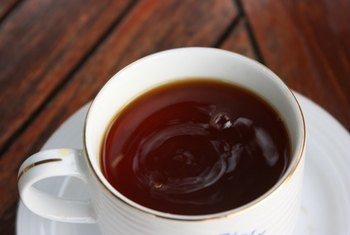 Avoid drinking tea with meals to insure optimal iron absorption.
