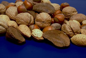 Nuts are an excellent source of protein -- and healthy fats.