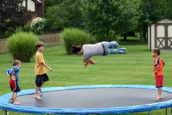 Trampolines are kid magnets with a high risk for accidents that could lead to lawsuits.