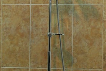 Even a novice can install tile in a shower.