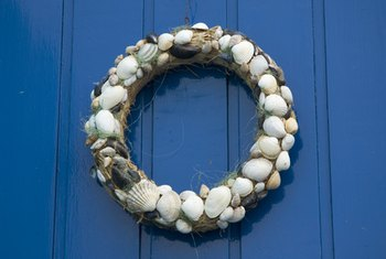 Garlands Made With Natural Materials Are Often Used In Wiccan Decorations