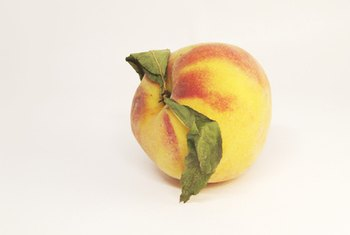 Peaches contain phenolic compounds that may act as powerful antioxidants.