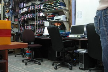 Ideas For Office Remodeling. A Cluttered Office Makes Work More Difficult.