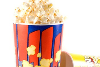 A large serving of movie-theater popcorn can contain 1,200 calories.