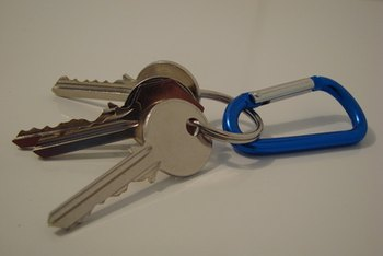 After a prescribed process, the landlord can take the keys from an errant tenant.