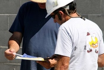 General contractors oversee large home improvement projects.
