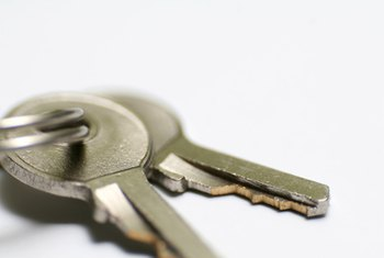 Tenants are required to return all keys to the landlord upon vacating the property.