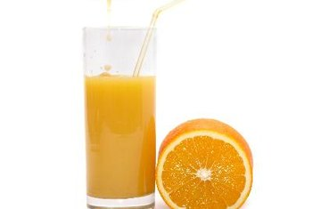 Orange juice is rich in an array of vitamins, including C and A.