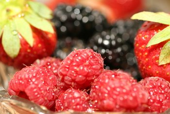 Berries are generally good sources of dietary fiber.