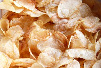 Chips and other processed foods are major sources of sodium in the average American's diet.