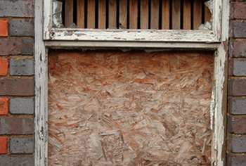 It isn't easy to sell a home with boarded-up windows.