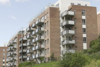 The beneficial impact of going green is multiplied in a large apartment complex.