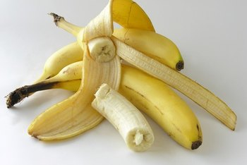 Bananas are very high in potassium.