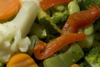 Frozen mixed vegetables provide convenience and nutrition.