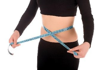 Control your calorie intake to stay slim.