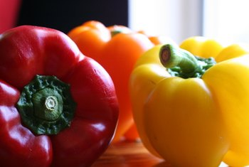 Bell peppers promote the absorption of nonheme iron.