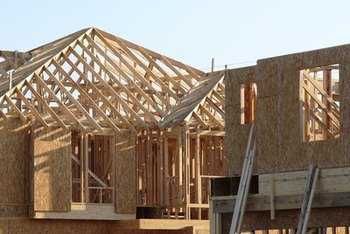 Image result for wood frame construction house