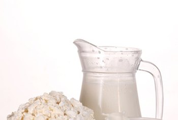 Milk and dairy products have lactose.