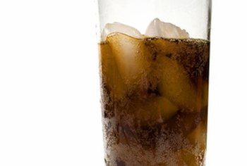 Most sodas are sweetened with high-fructose corn syrup.