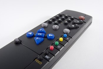Home automation uses remote controls to give commands to various systems.