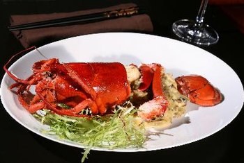 Lobster is a nutritious source of zinc.