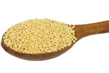 Alternative grains, such as millet, can be good sources of insoluble fiber.