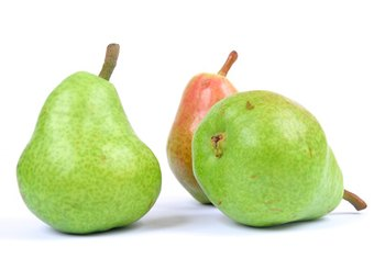 Pears have a high proportion of sugar in the form of fructose.
