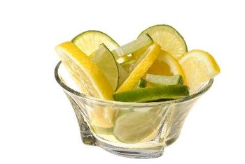 Lemons and limes are low in calories, fat free and rich in vitamin C.