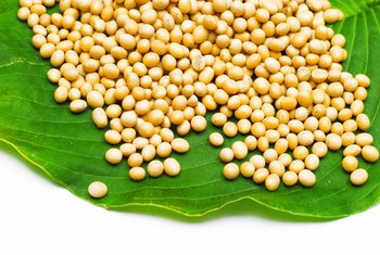 Soybean oil is made from whole soybean seeds.