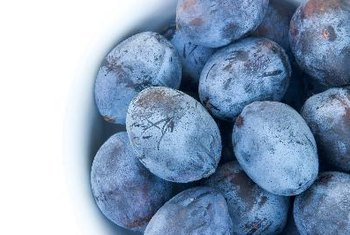 Plums and prunes are excellent sources of antioxidant compounds.