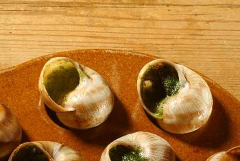 Snail meat is rich in iron, vitamin E and magnesium.