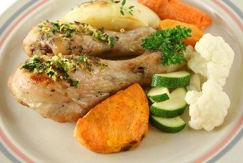 Chicken drumsticks contain high levels of vitamin K2.