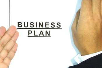 A business plan sets goals and a strategy to achieve them.