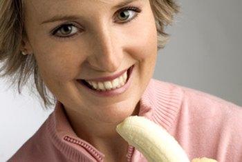 As bananas também possuem vitamina C.