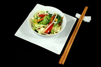 The use of fish oils is common in the preparation of vegetable-based East Asian dishes.