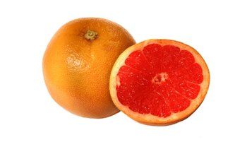 One cup of grapefruit sections contains 74 calories.