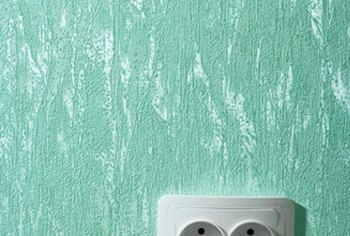 Add texture to a wall in several ways.
