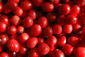 Add cranberries to your smoothies for a source of vitamin E.