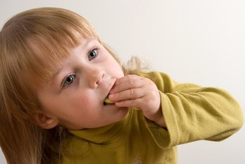 Eating healthy foods as a child offers lifetime benefits.