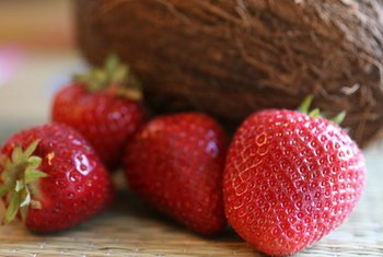 The fiber in berries helps the heart by lowering cholesterol and blood pressure.