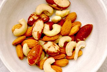 A serving of nuts is a nutrient-dense, satiating snack.