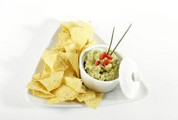 Guacamole is packed with fiber and potassium.