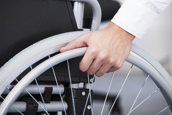 A wheelchair can run smoothly over hardwood flooring.