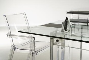 Glass furniture scratches can be minimized.